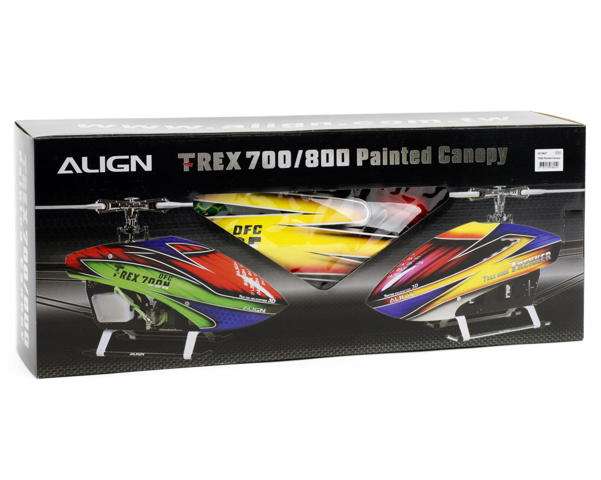 Align Painted Canopy (Yellow/Green/Red) (700E DFC)