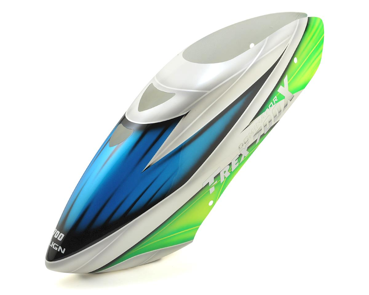 Align T-Rex 700X Painted Canopy (Green/White/Blue)