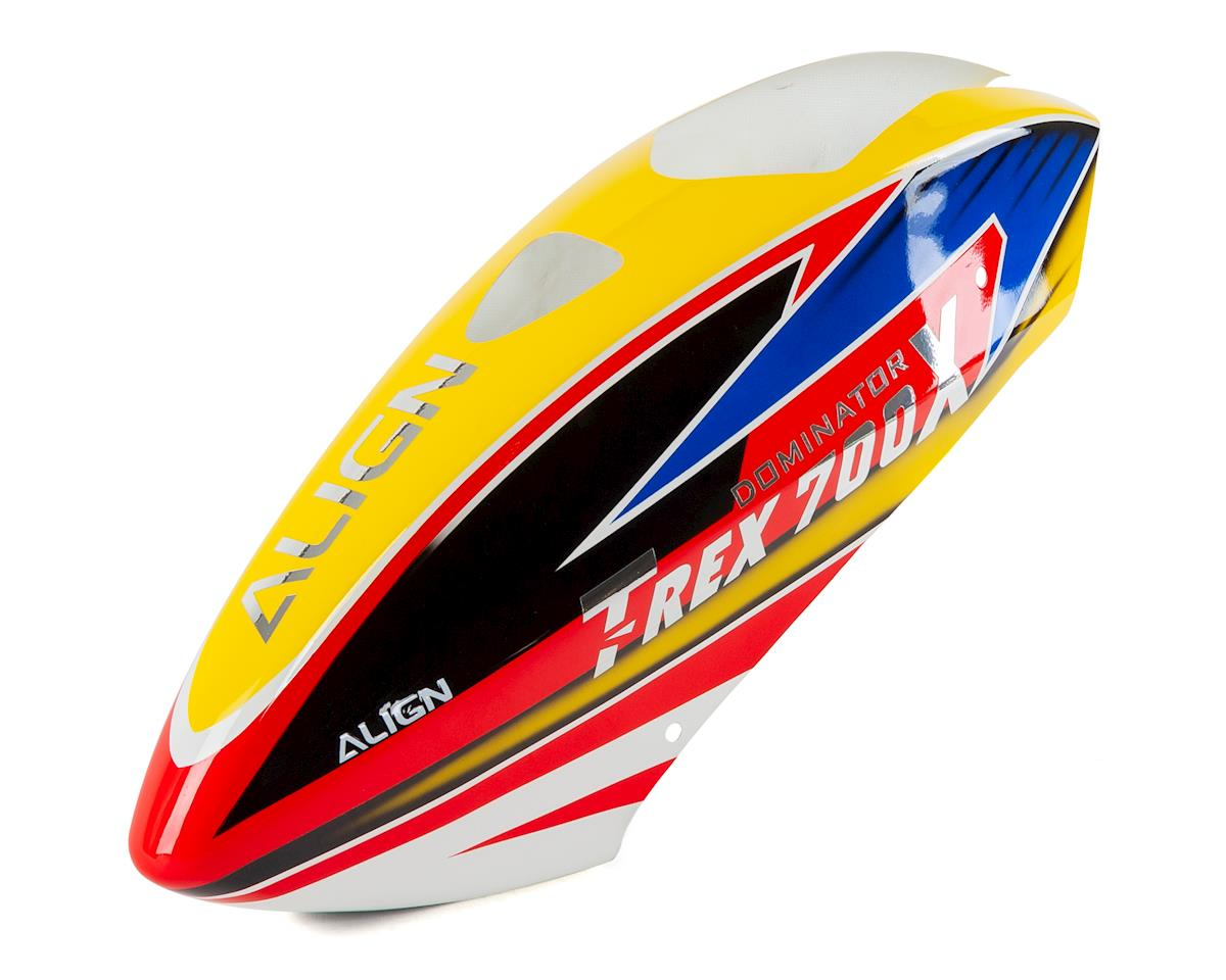 Align 700X Painted Canopy (Yellow/Blue/Red)