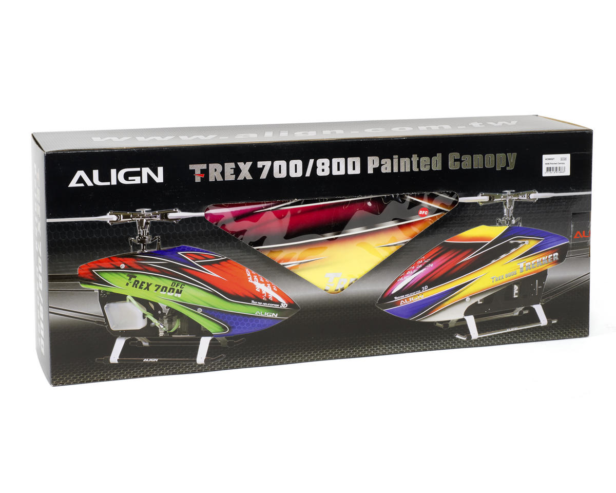 Align 800E Painted Canopy