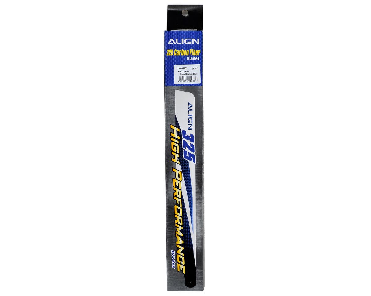 Align 325 Carbon Fiber Blade Set (Blue)