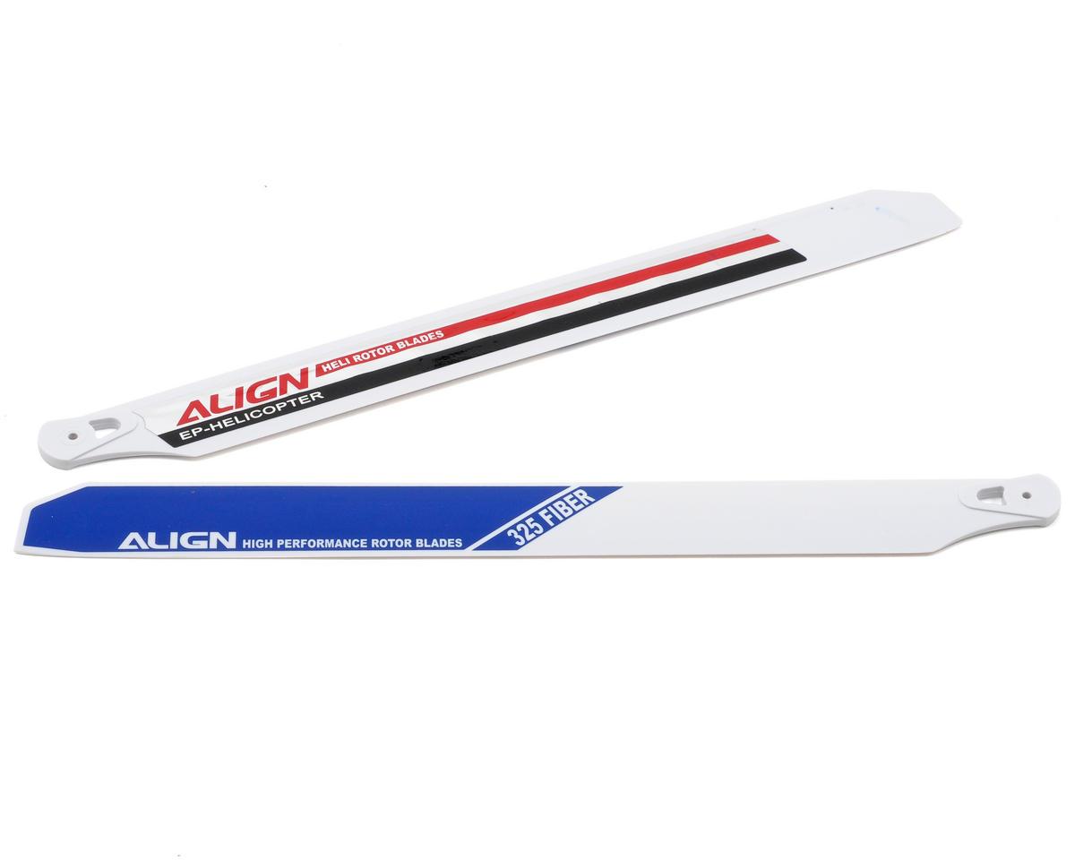 Align 325mm Fiber Rotor Blade Set (Blue/White)