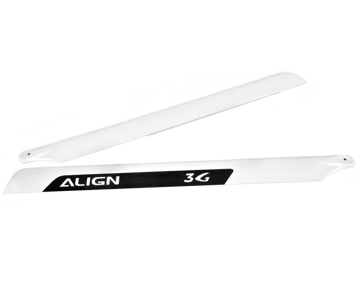 Align 600 3G Carbon Fiber Blade Set (2)