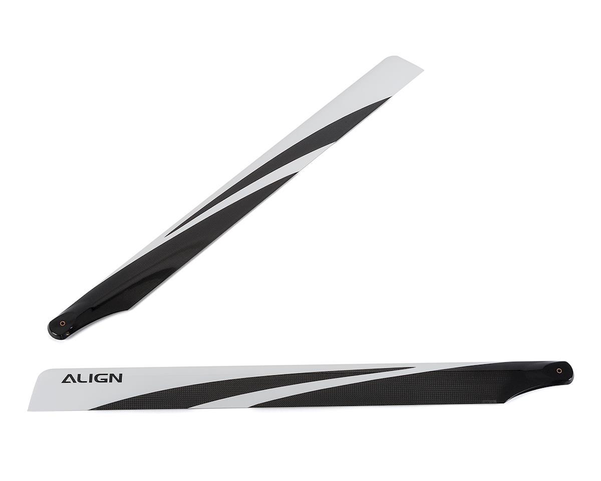 Align 760mm Carbon Fiber Main Rotor Blades