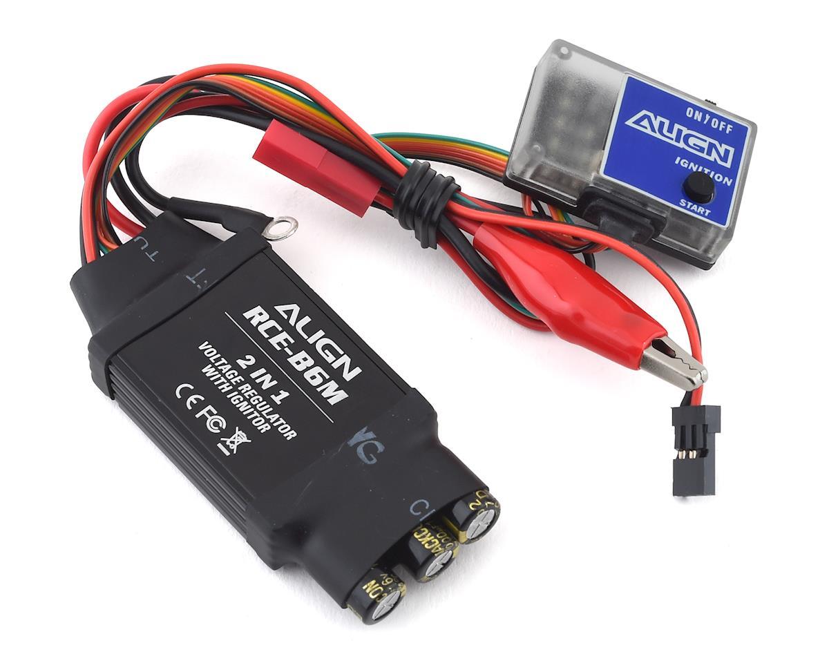 Align B6M 2-In-1 Voltage Regulator & Glow Ignitor
