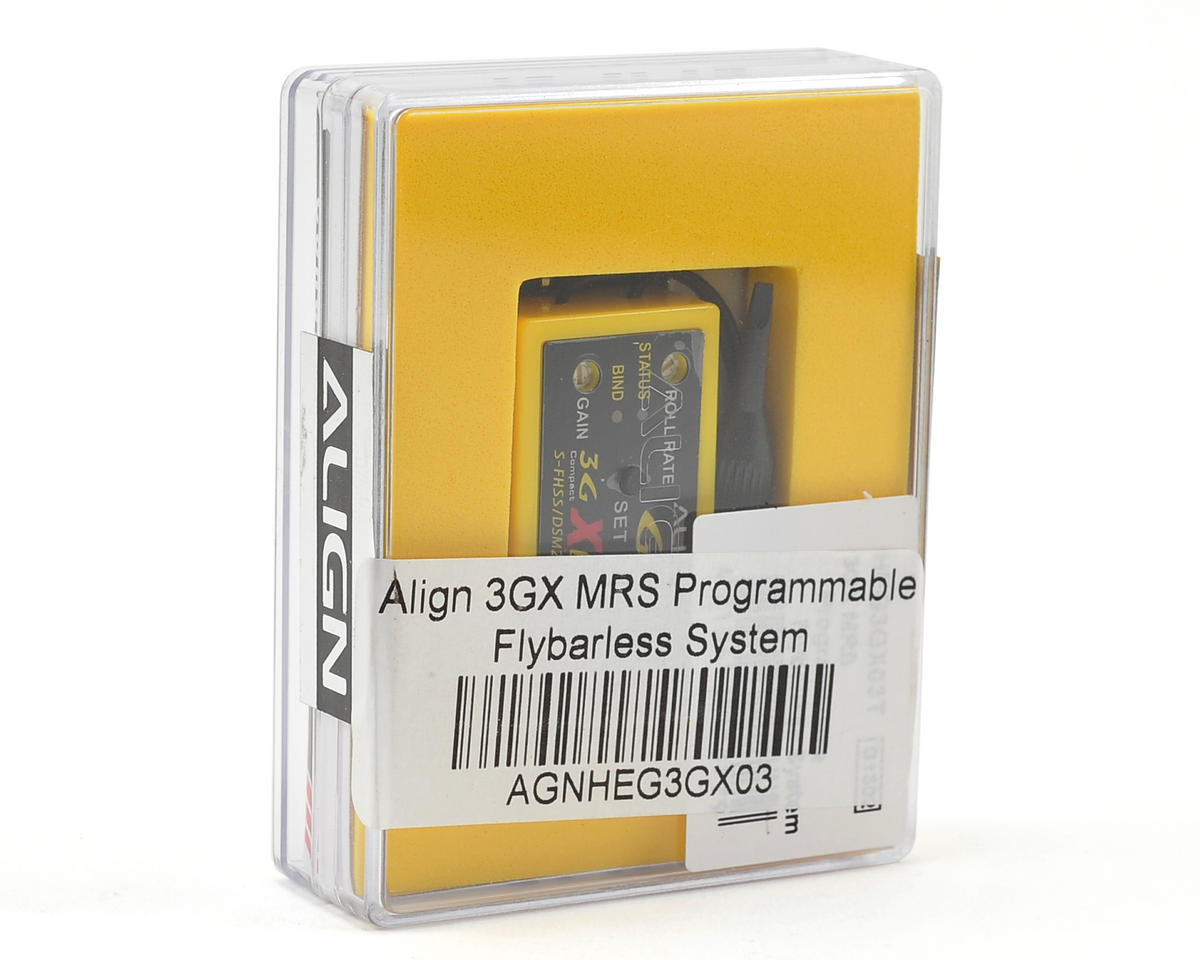 Align 3GX MRS Programmable Flybarless System