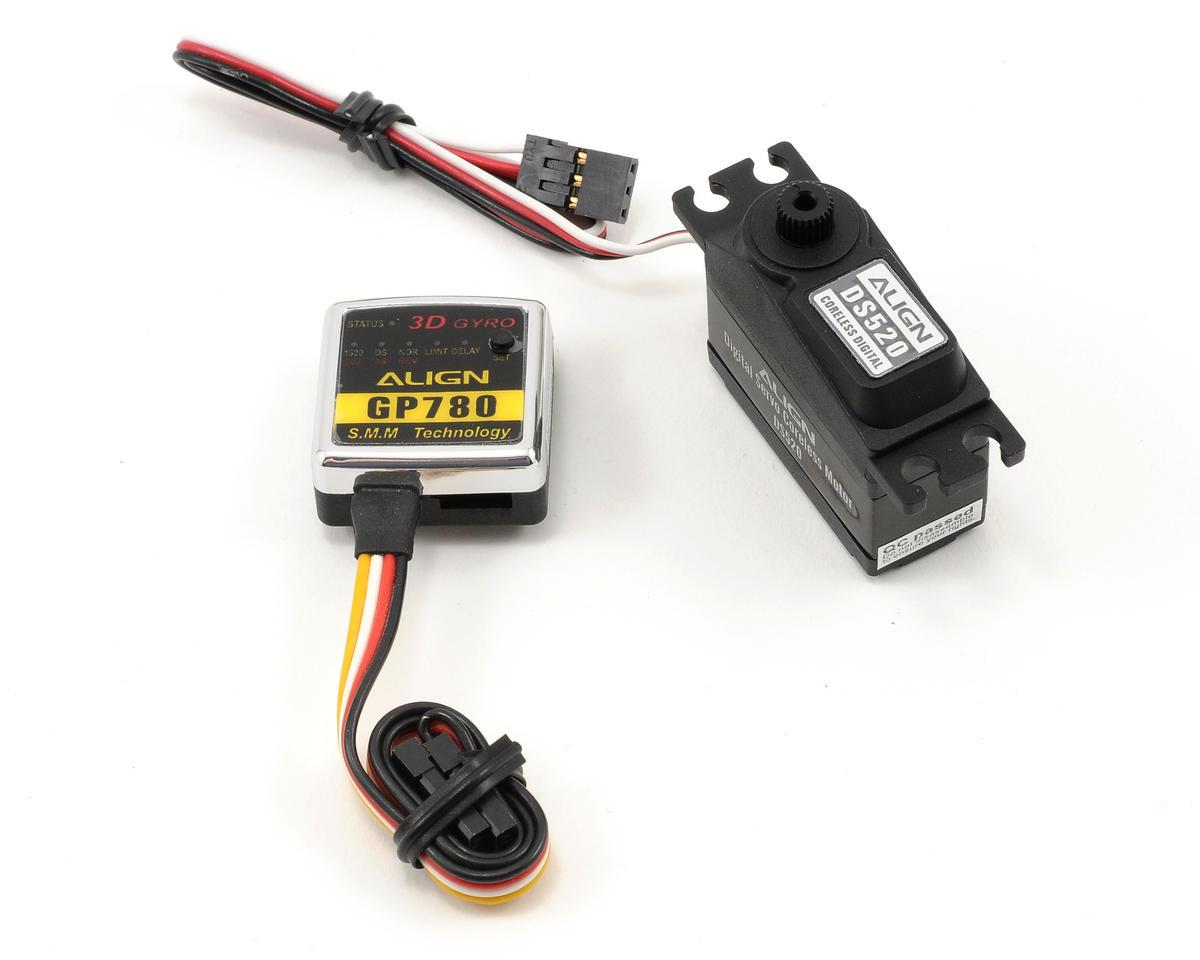 Align GP780 Head Lock Gyro Combo w/DS520 Servo