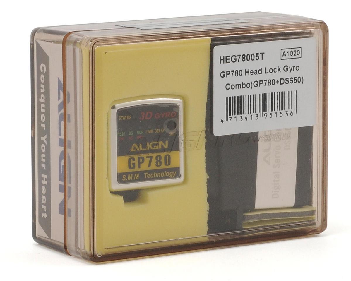 Align GP780 Head Lock Gyro Combo w/DS650 Servo