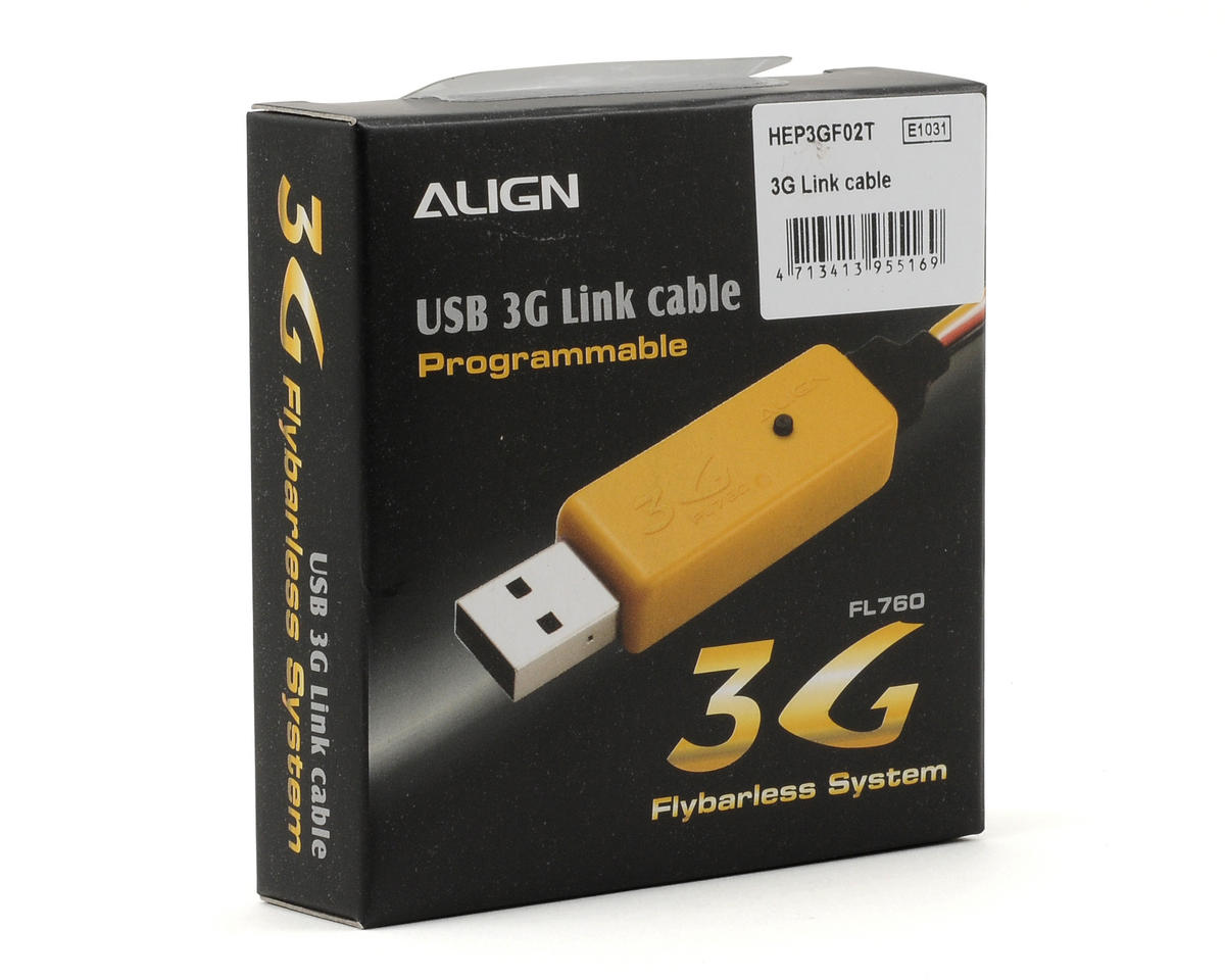 Align 3G Link Update Cable & Software