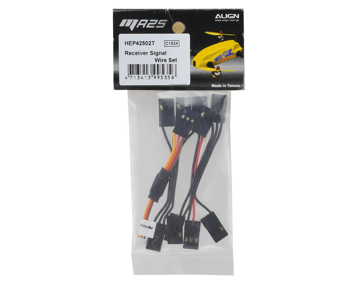 Align Receiver Signal Wire Set