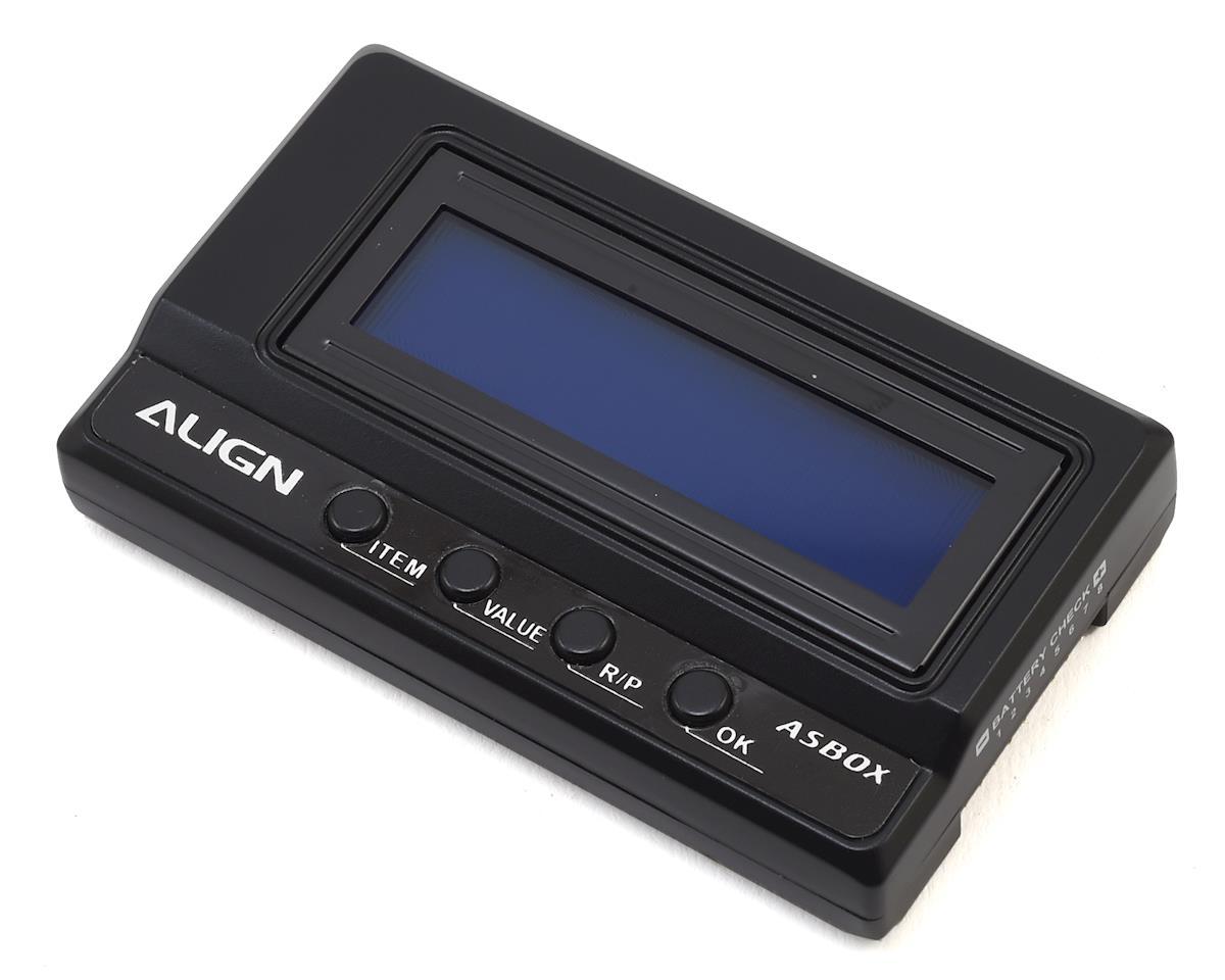 Align ASBOX ESC Programmer & Battery Checker