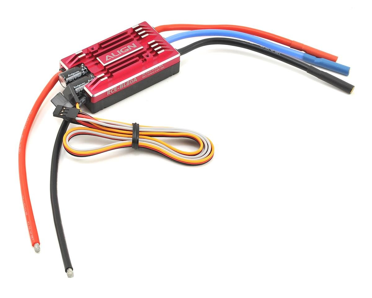 RCE-BL80A Brushless ESC by Align