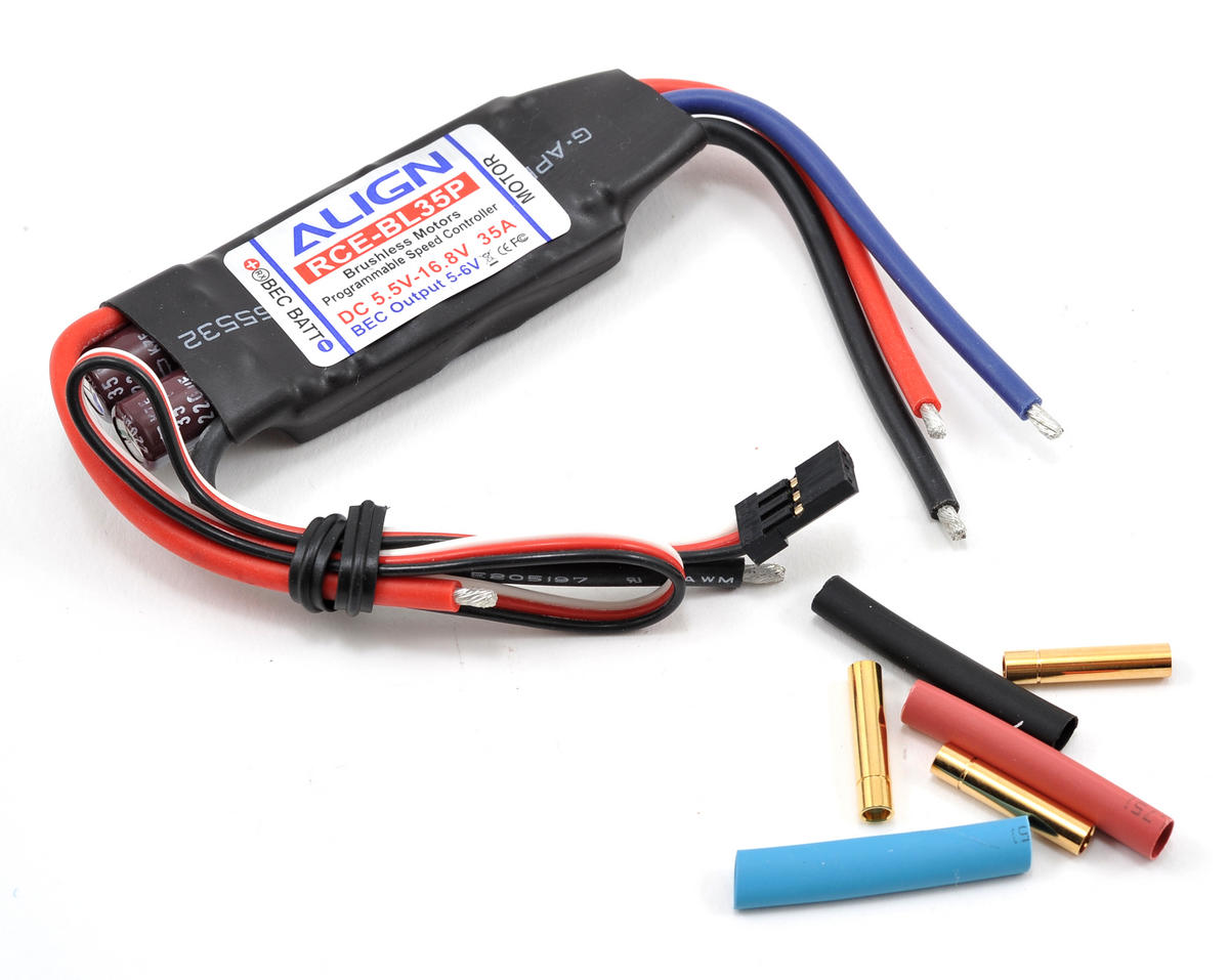 Align RCE-BL35P 35A Brushless ESC w/Governor Mode