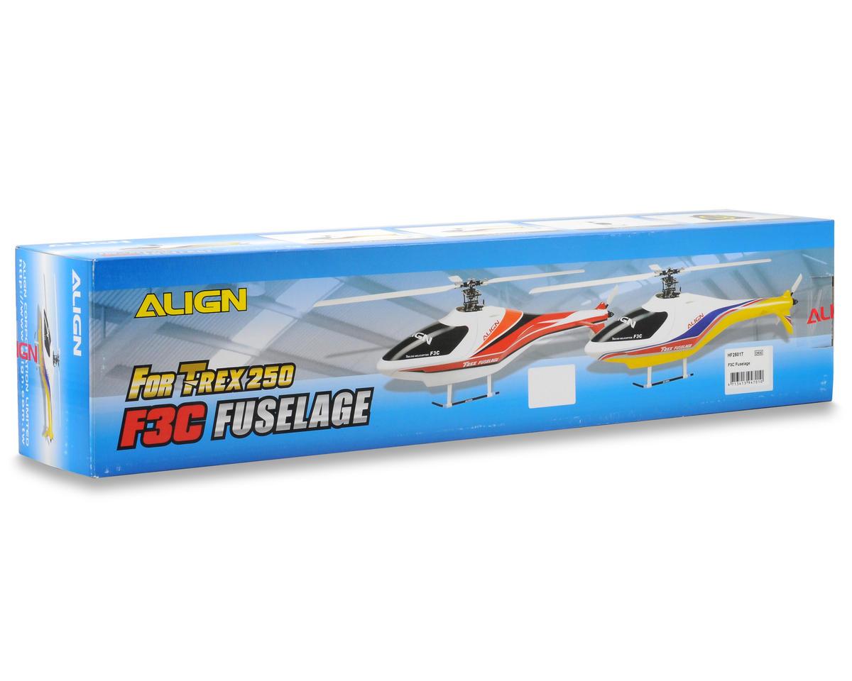 Align F3C Fuselage (White/Yellow)