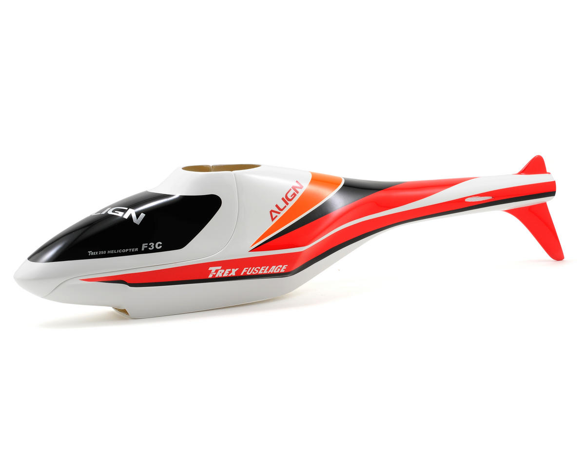 Align 250 F3C Fuselage (White/Red)