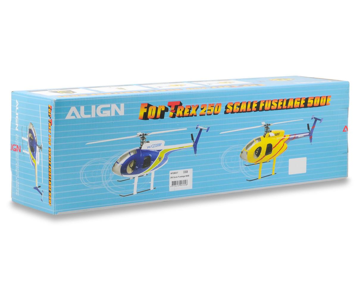 Align 250 Scale Fuselage 500E (Blue/Green)