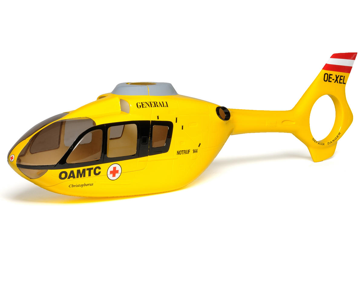 Align EC-135 450 Scale Fuselage (Yellow)