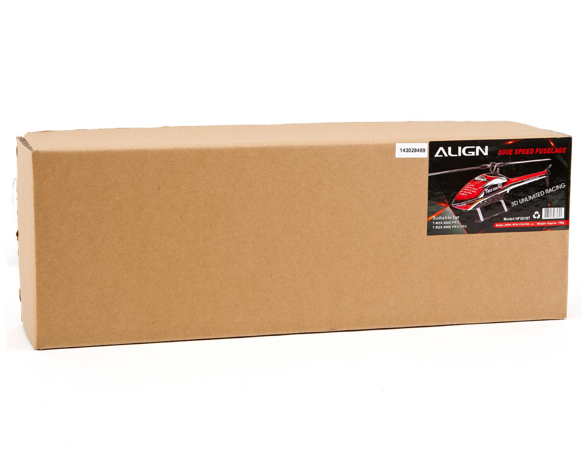 "Align 500E ""Speed"" Fuselage (Red/White)"