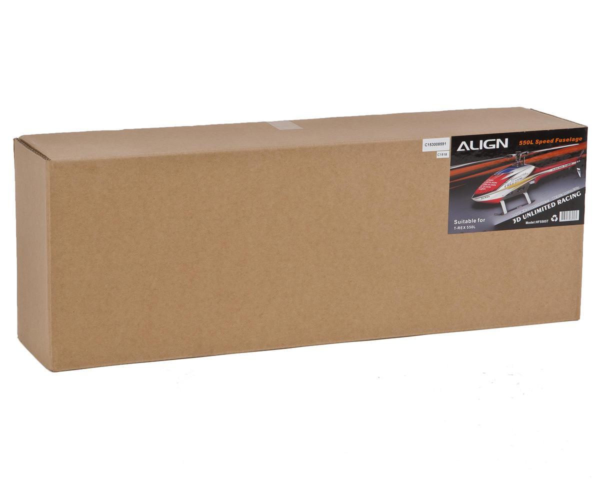 "Align 550L ""Speed"" Fuselage (Red)"