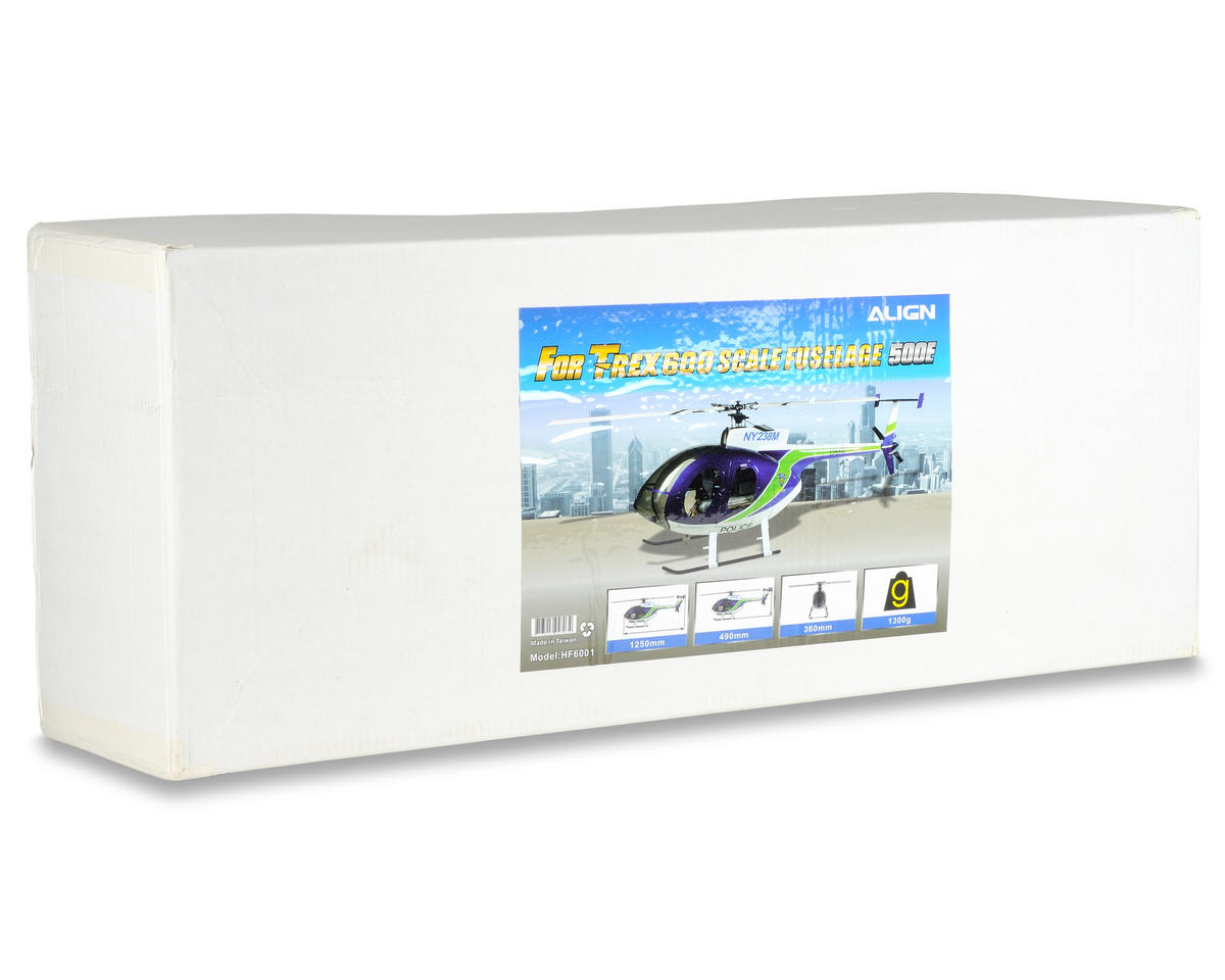 Align 600 Scale Fuselage (Blue/White)