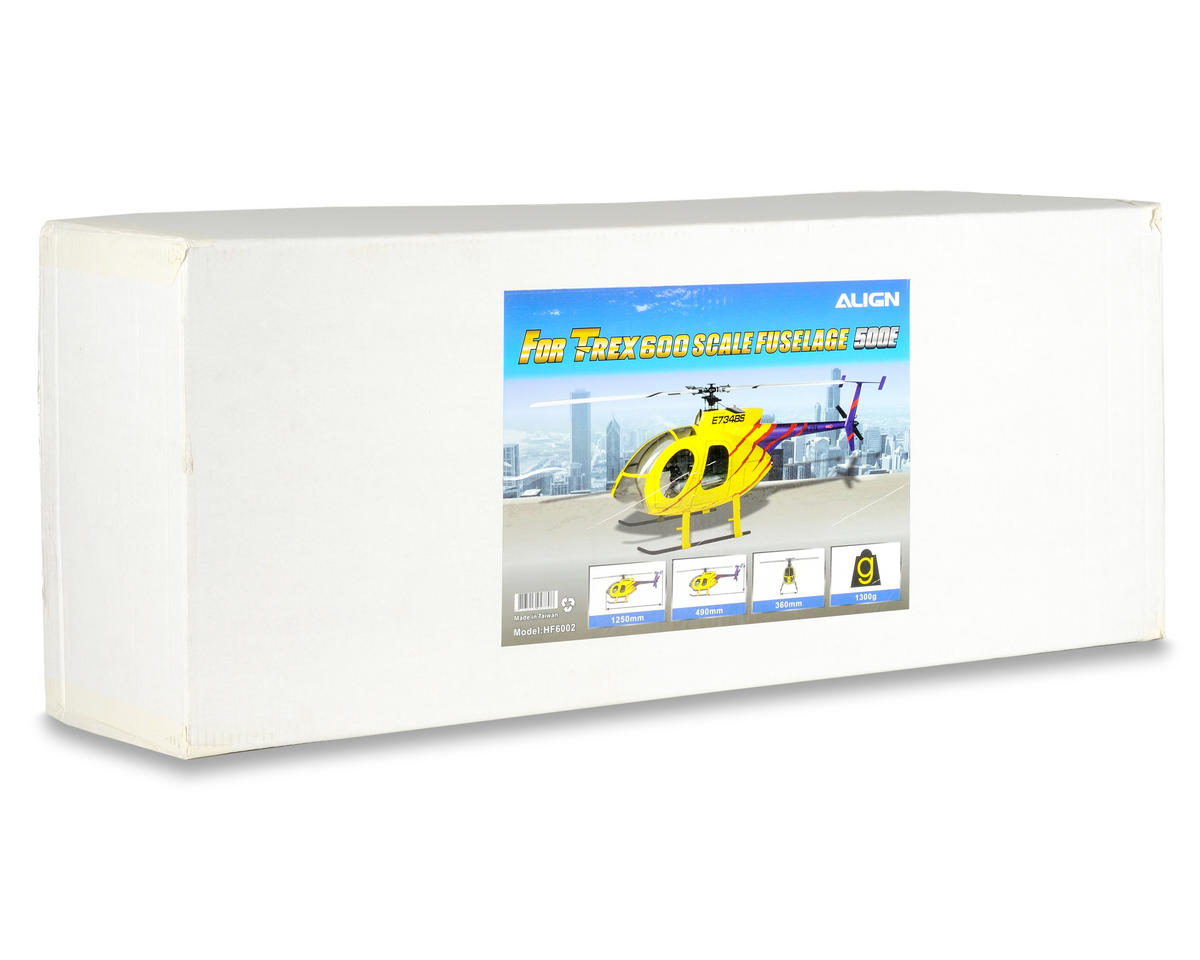 Align 600 Scale Fuselage (Yellow)