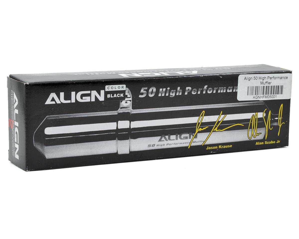 Align 50 High Performance Muffler (Black)