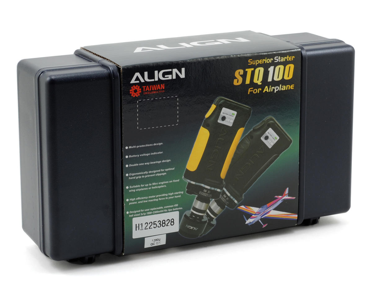 Align Super Starter (Black) (Airplane)