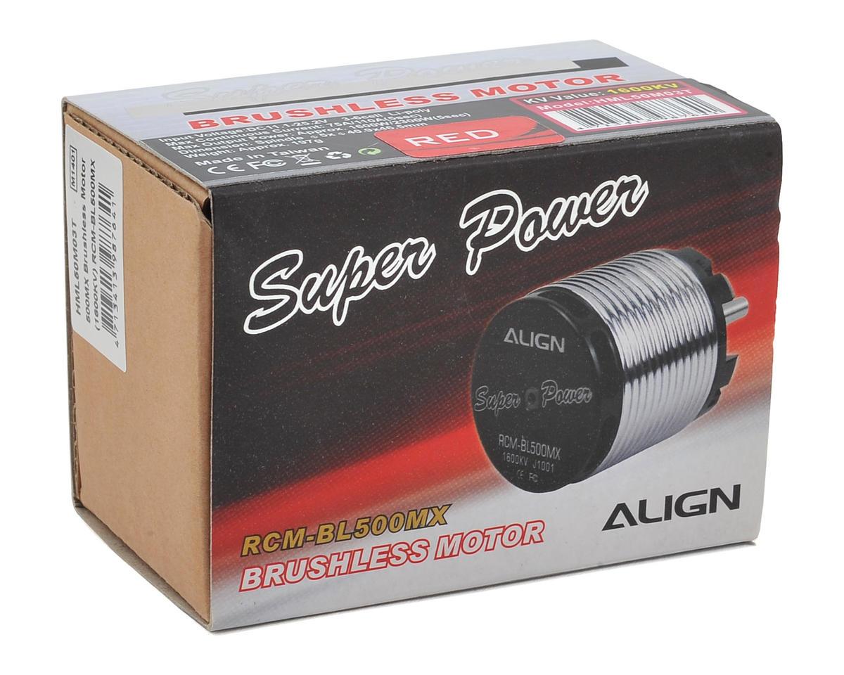 Align 500MX Brushless Motor (1600KV)