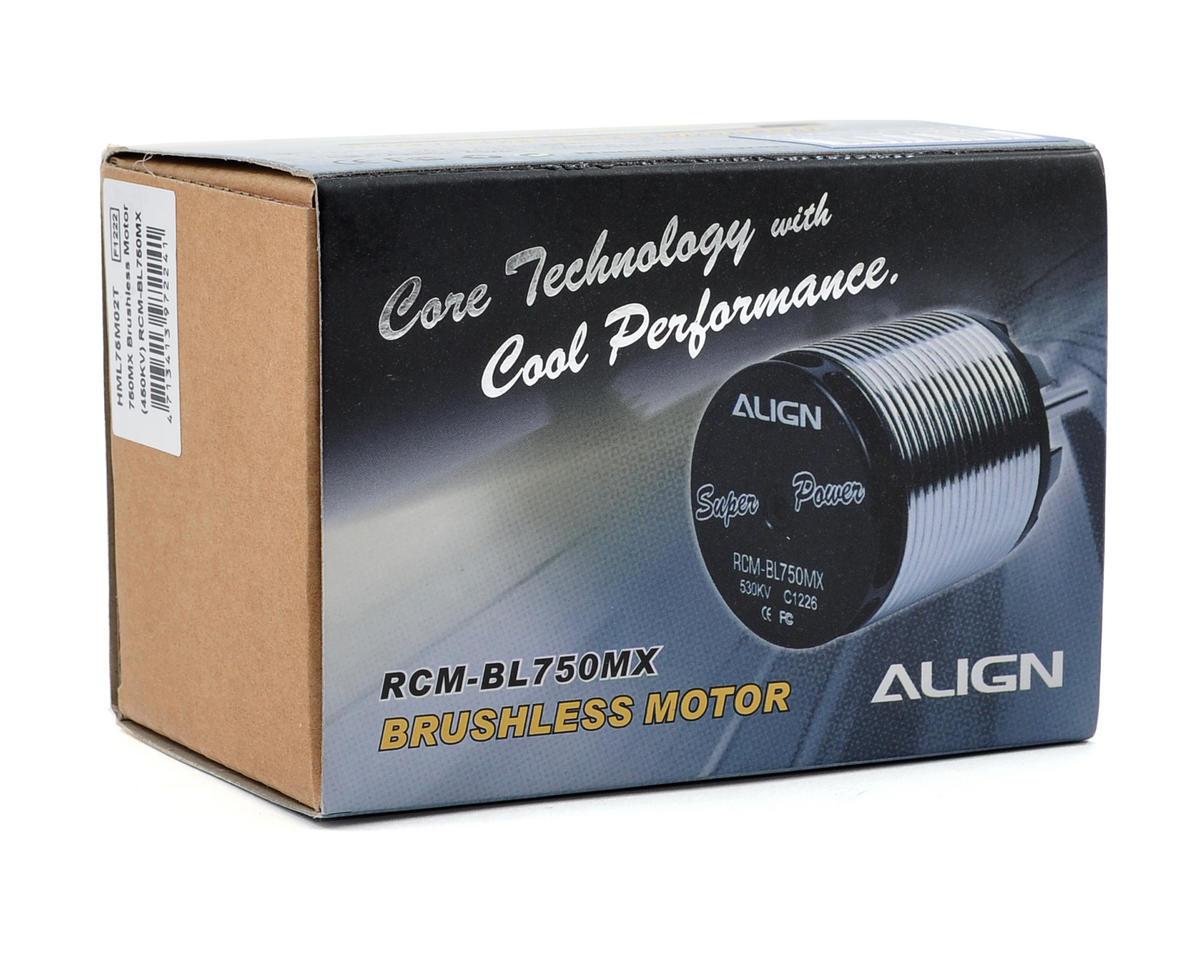 Align 750MX Brushless Motor (450kV)