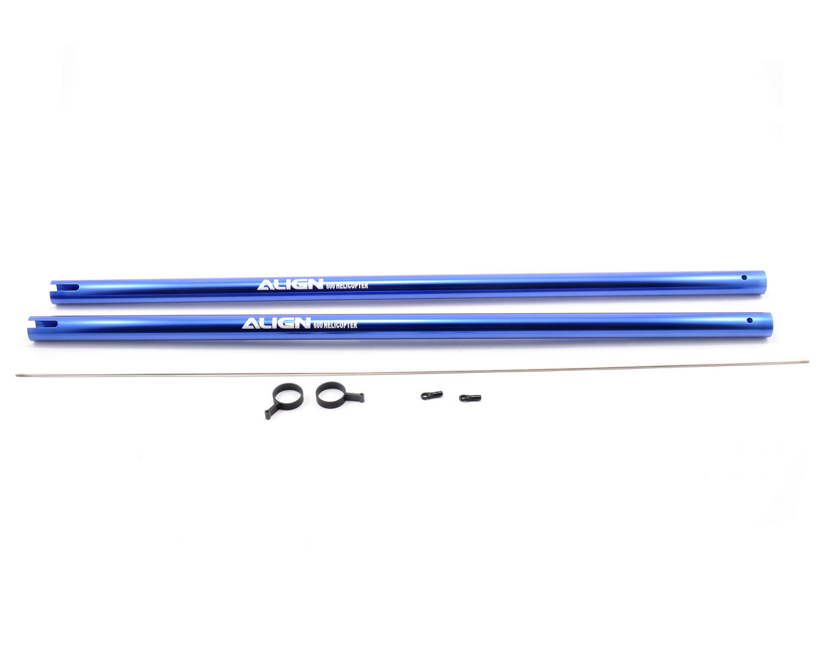 Align 600 Tail Boom (Blue)