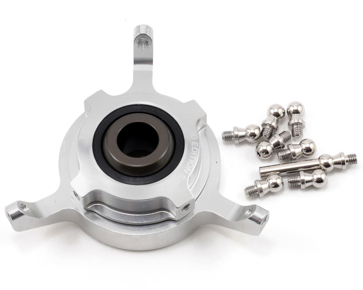 Align CCPM Metal Swashplate (Silver)