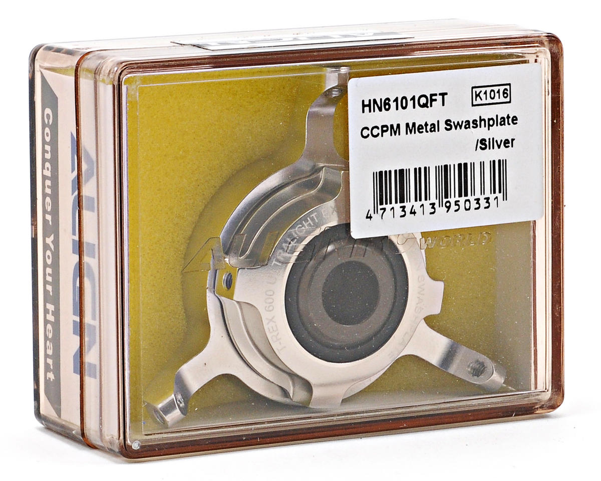 Align CCPM Metal Swashplate (Silver)