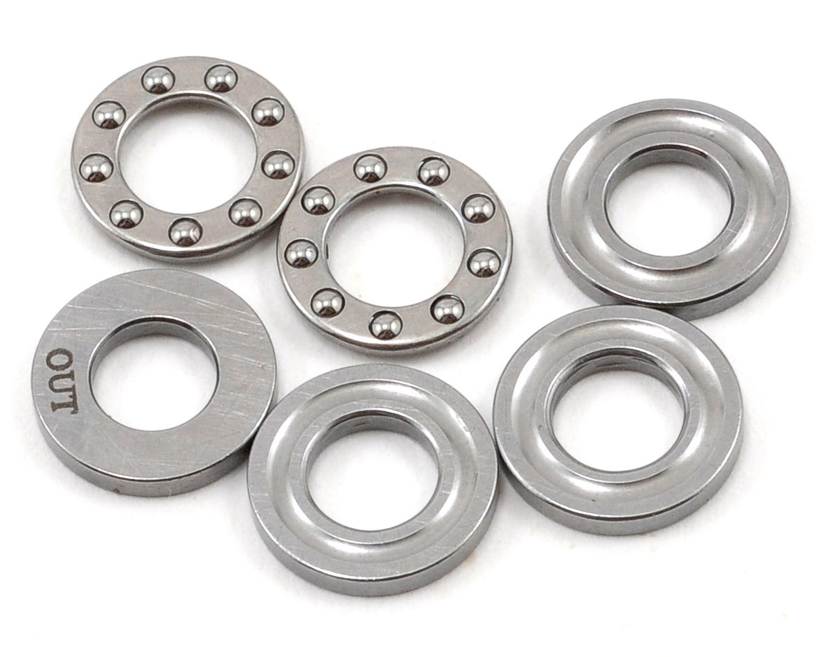 F5-10M Tail Rotor Thrust Bearing Set (2) by Align T-Rex 470L
