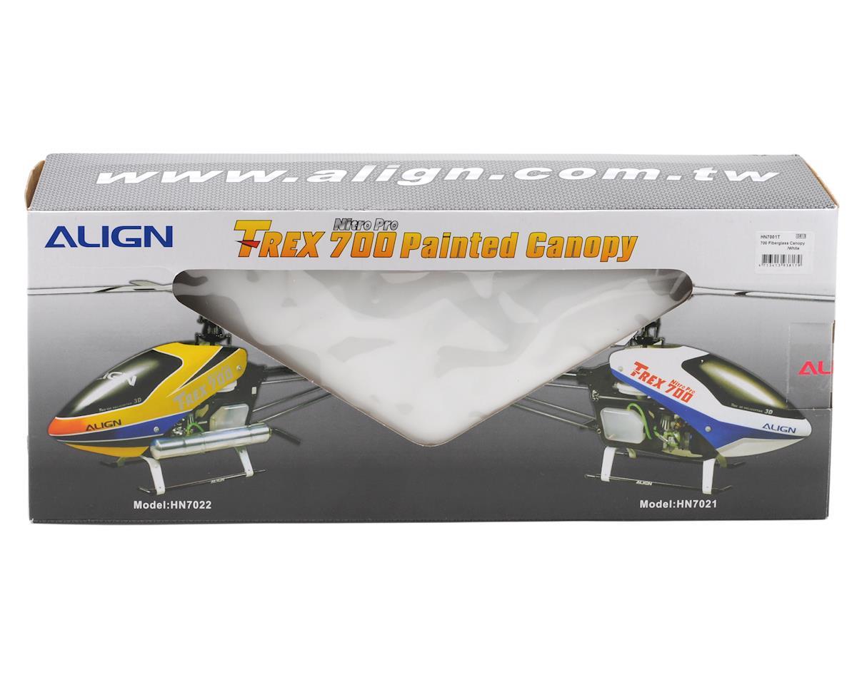 Align 700N Fiberglass Canopy (White)