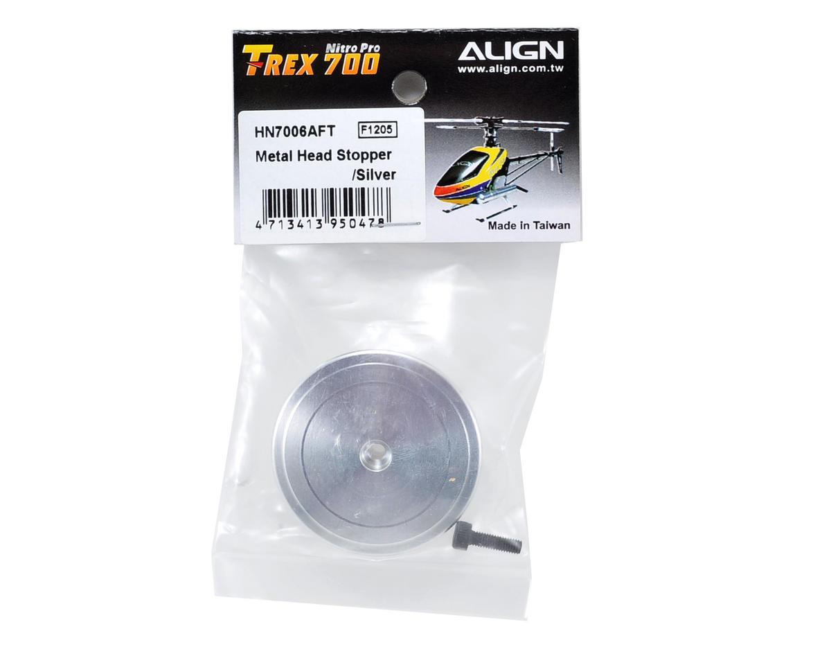 Align Aluminum Head Stopper (Silver)