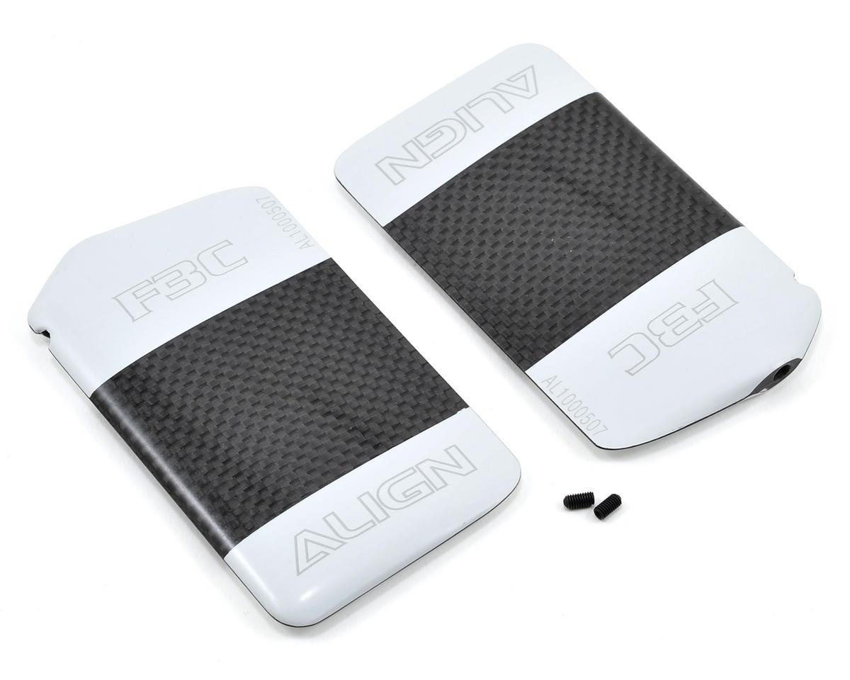 Align F3C Carbon Fiber Flybar Paddle Set (2)