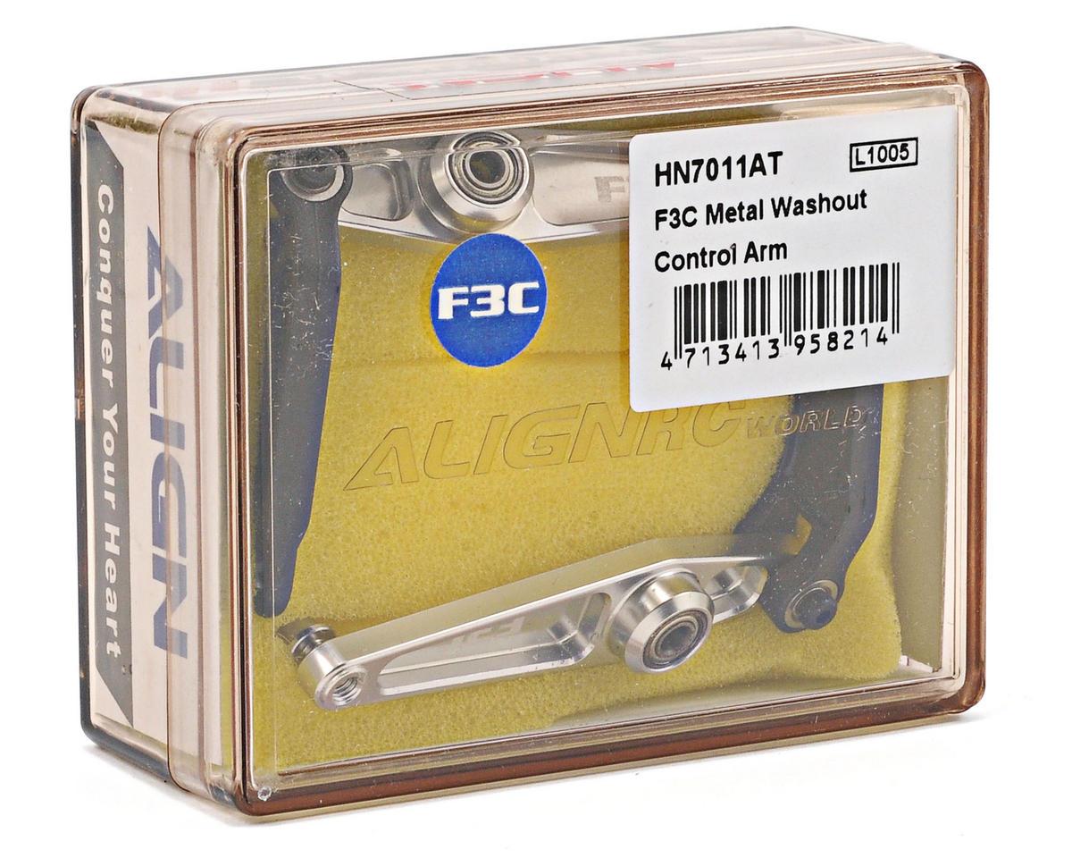 Align 700E F3C Metal Washout Control Arm Set (2)