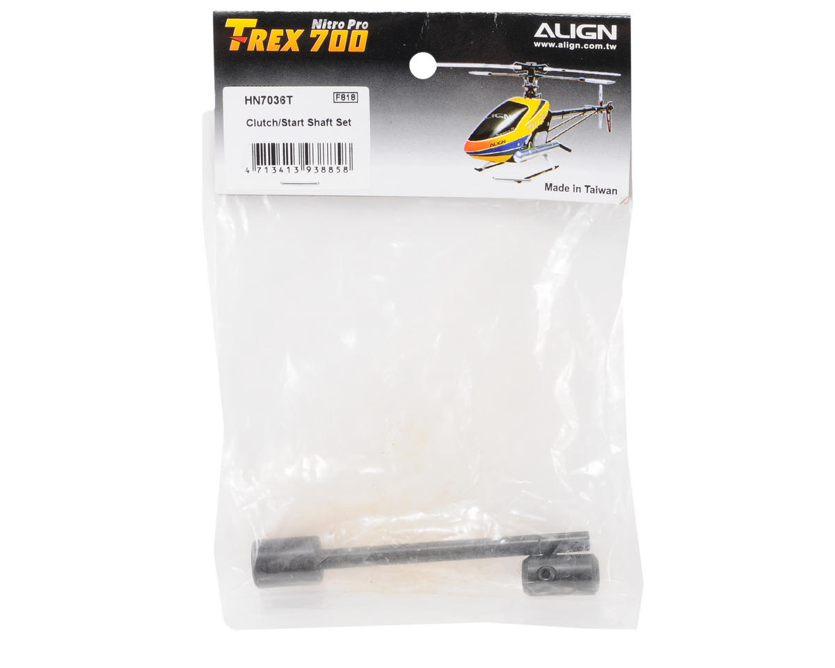 Align 700 Clutch/Start Shaft Set