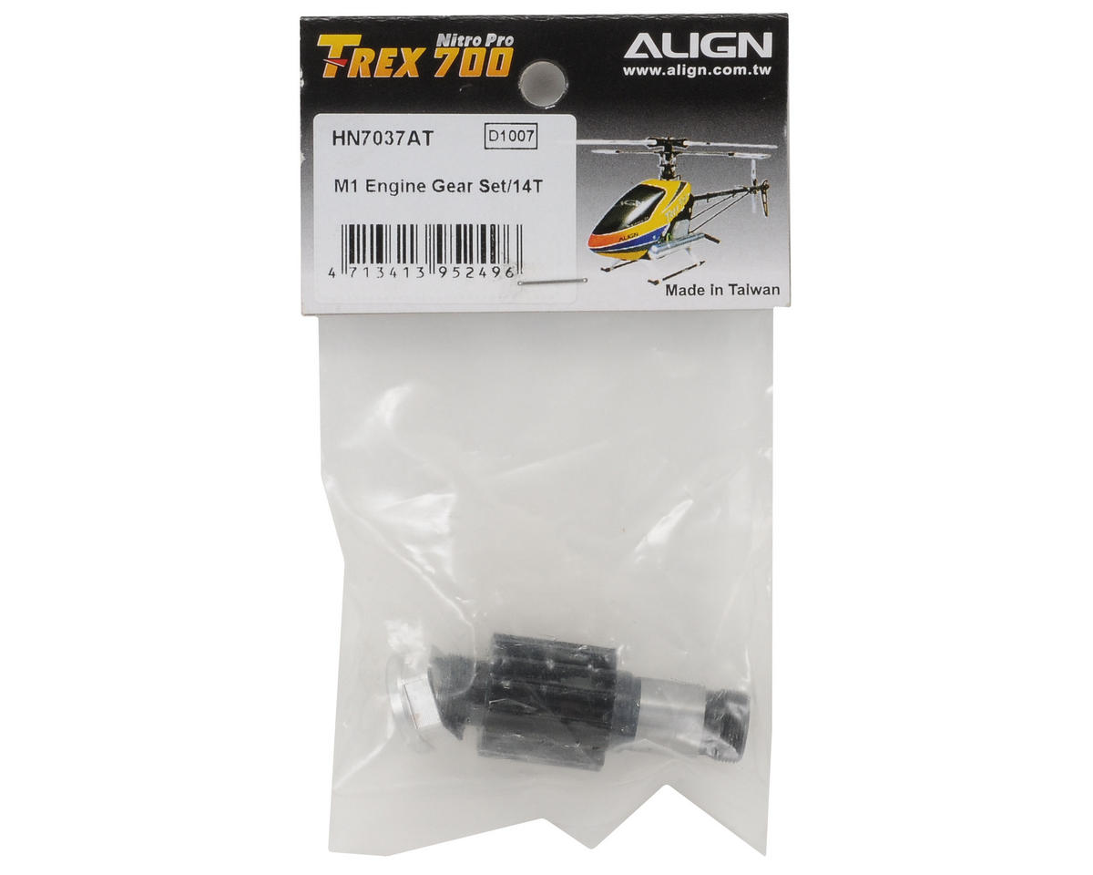 700 Nitro Mod 1 Engine Gear Set (14T) by Align
