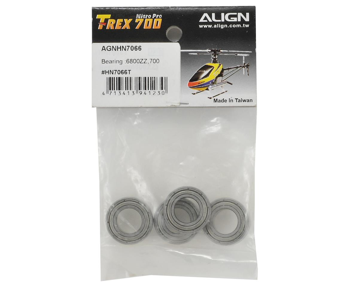Align 6800ZZ Metal Rotor Holder Bearing Set (4)