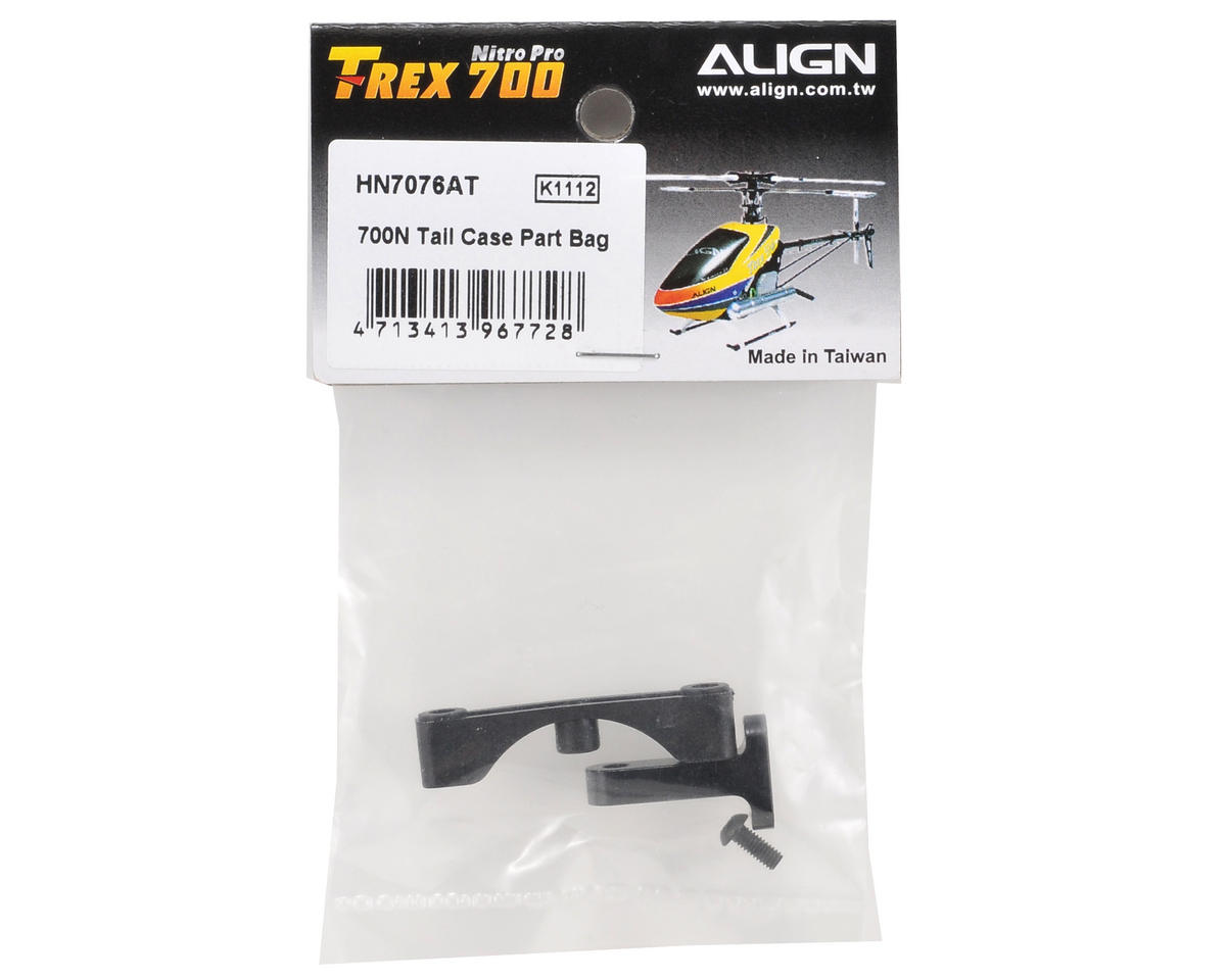 Align 700N Tail Case Parts Bag