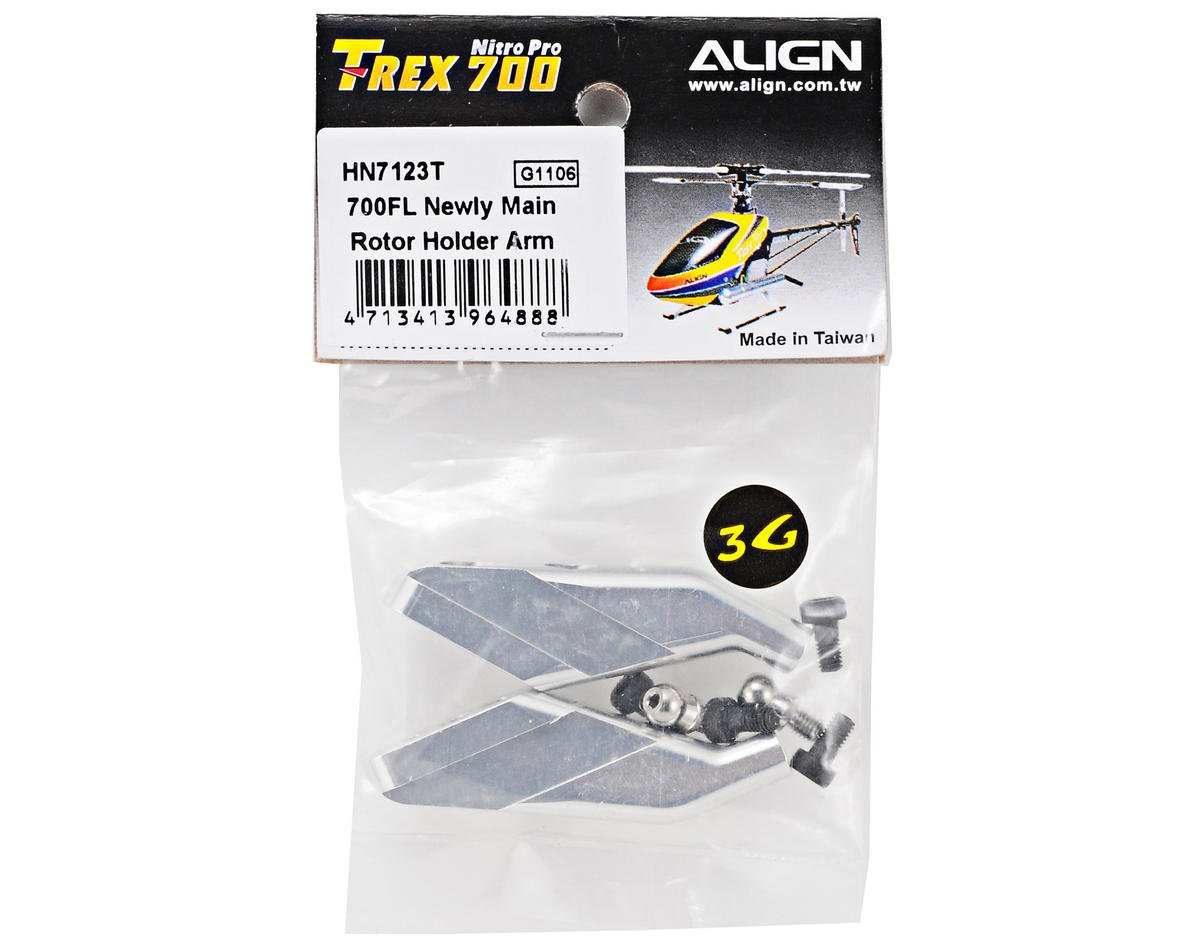 Align 700FL New Design Main Rotor Holder Arm Set