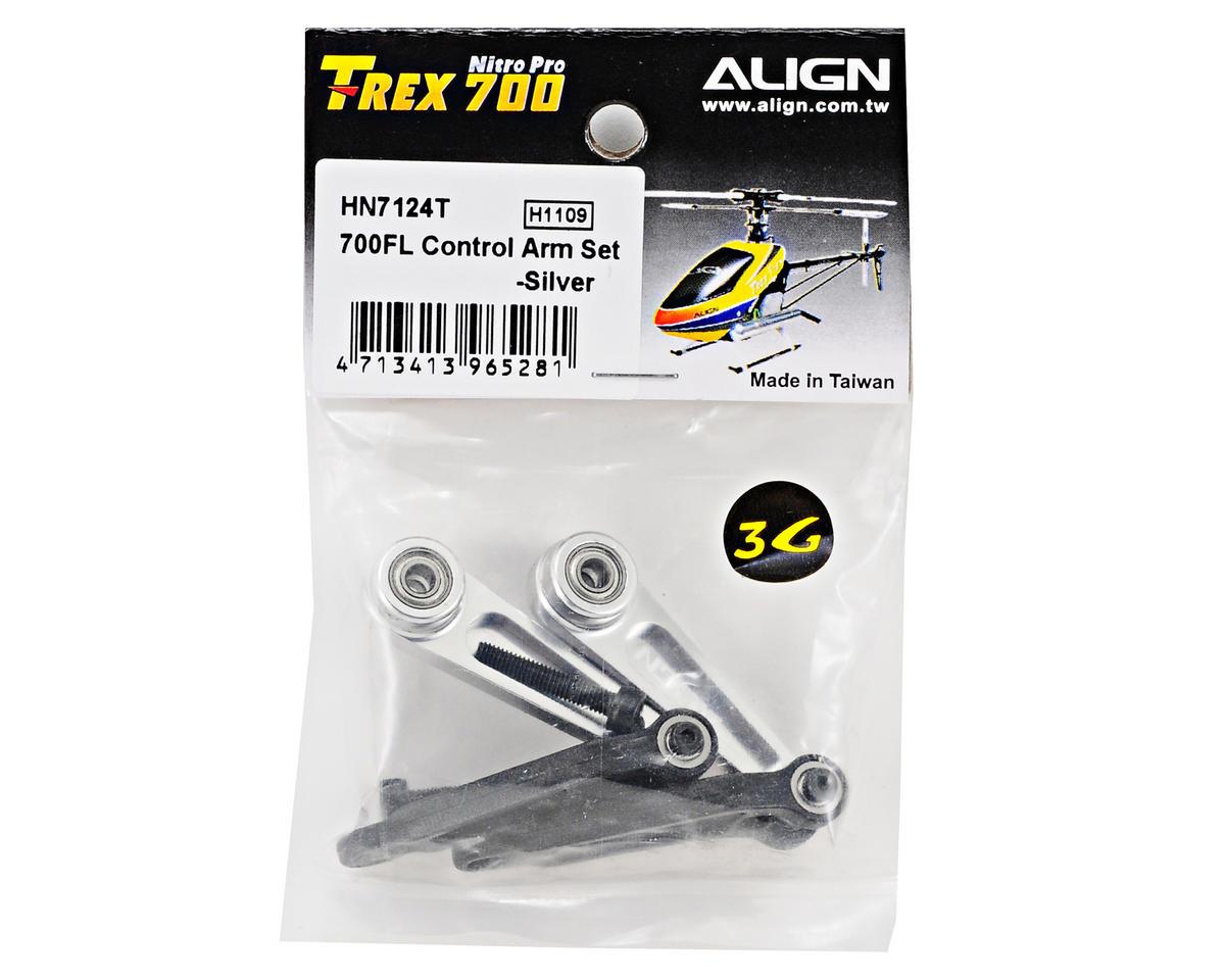 Align 700FL Control Arm Set (Silver)