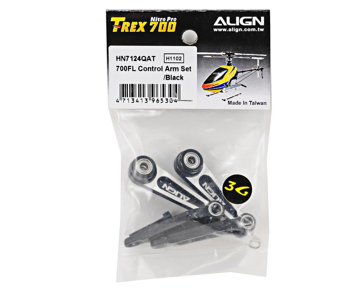 Align 700FL Control Arm Set (Black)