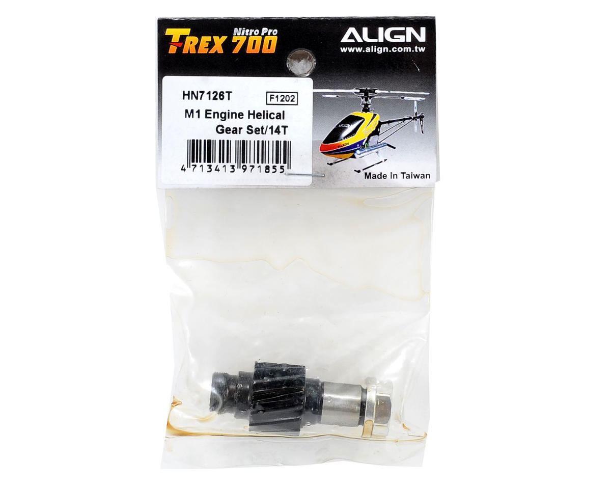 Align Mod1 Helical Engine Gear Set (14T)