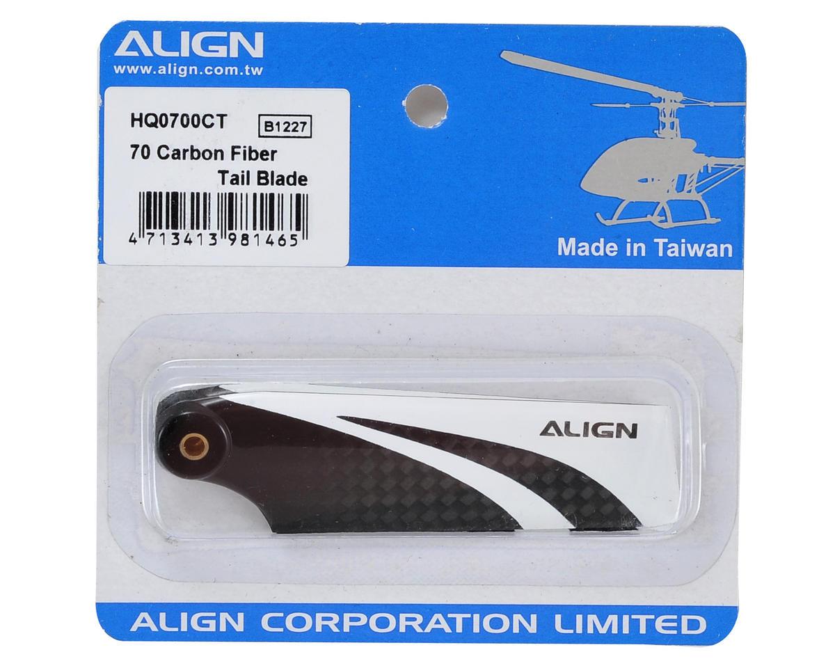 Align 70 Carbon Fiber Tail Blade Set