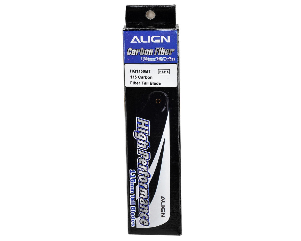 Align 800E 115mm Carbon Fiber Tail Blades
