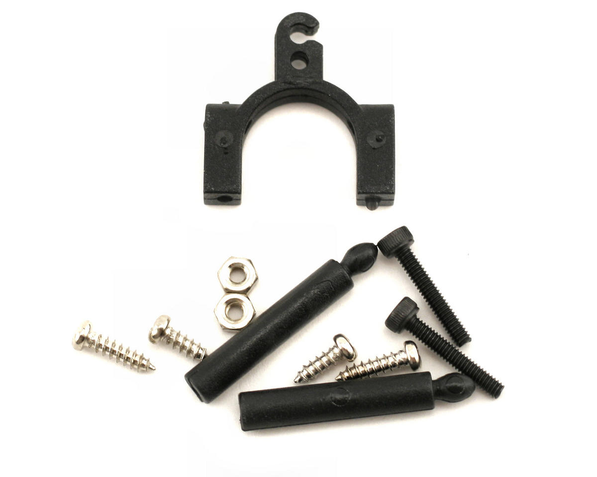 Align Canopy Mount (2) & Tail Linkage Rod Support