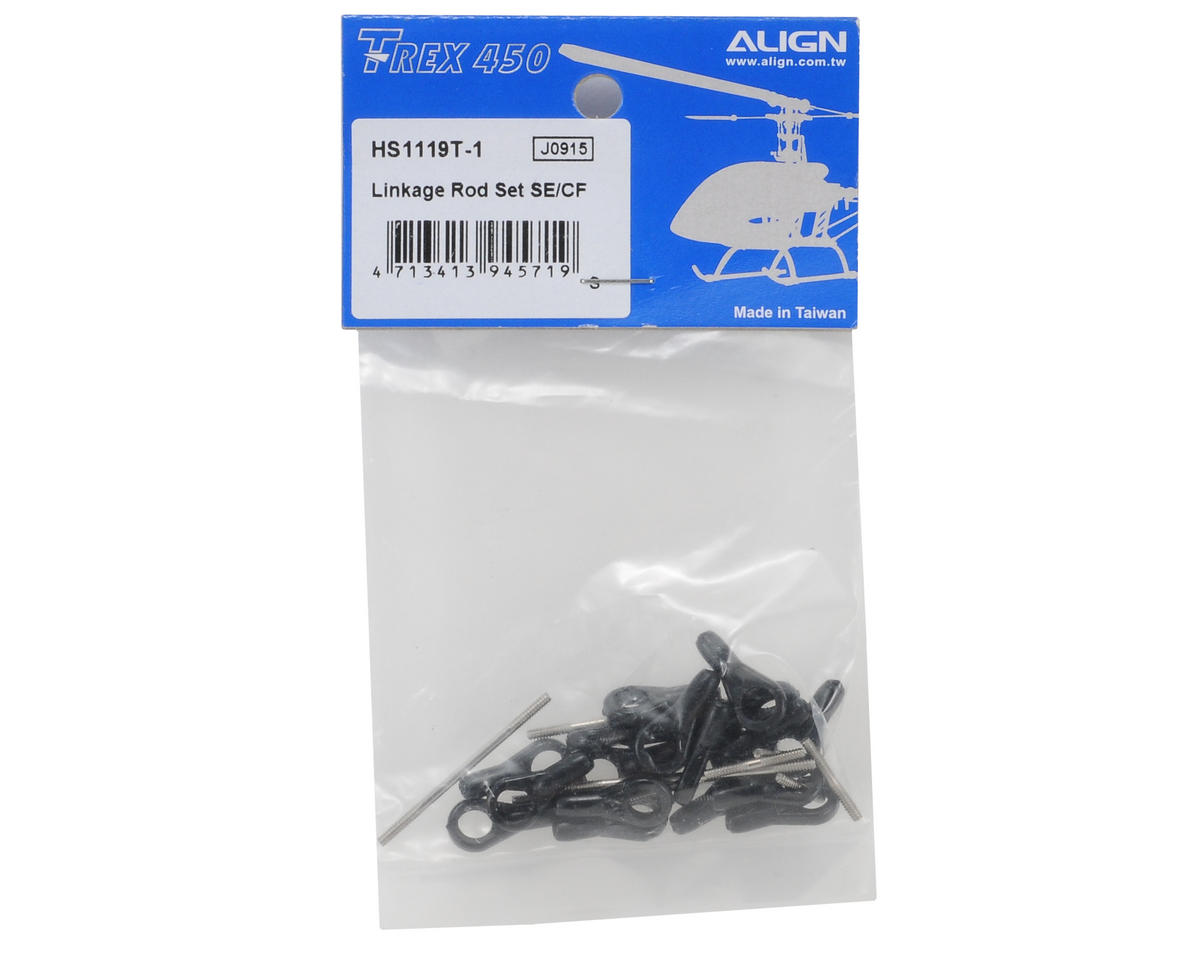 Align Linkage Rod Set (450XL/450SE)