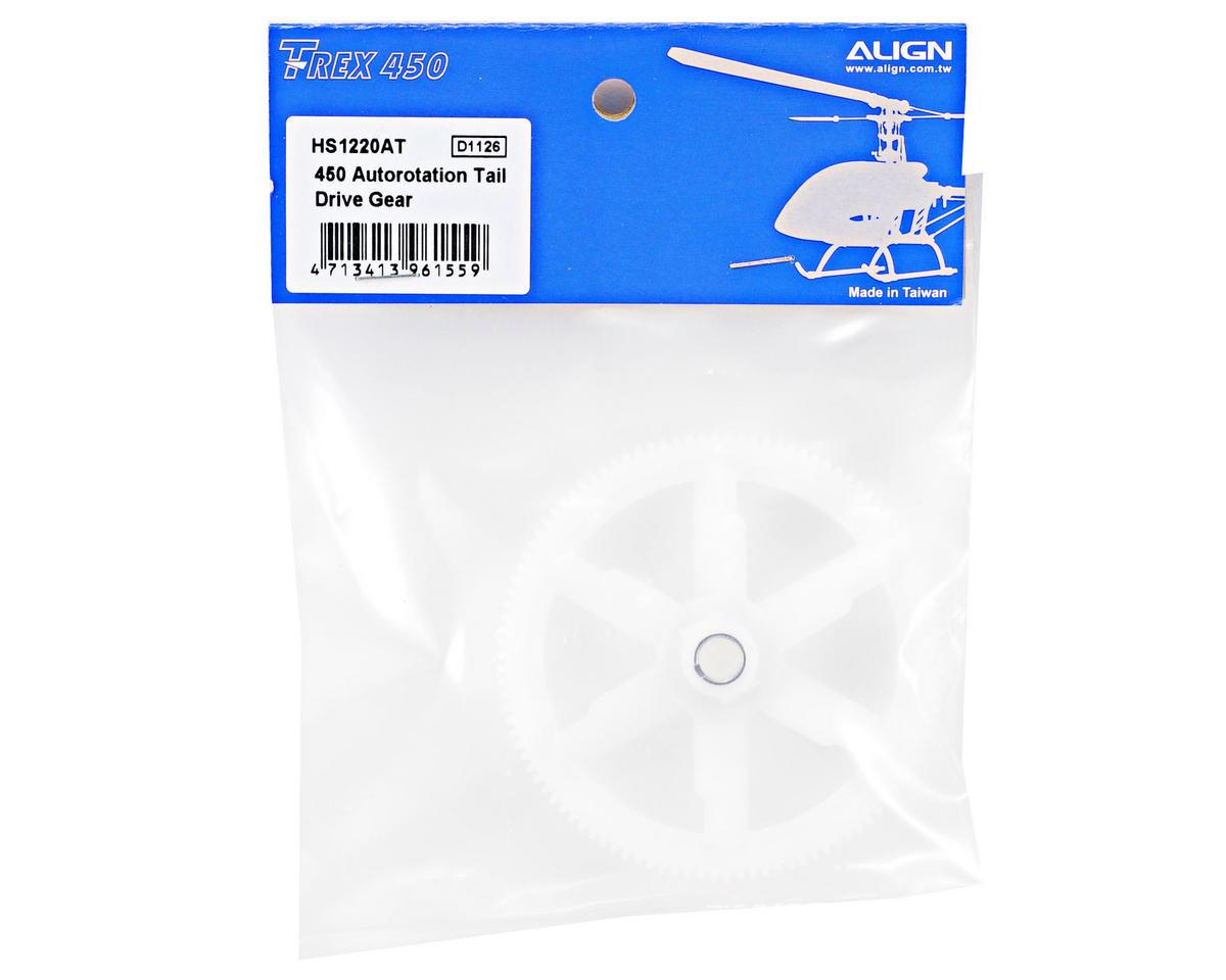 Align 450 Autorotation Tail Drive Main Gear (White)
